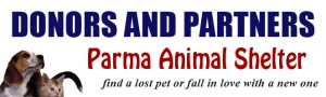 Become a Donor or Partner of the Parma Animal Shelter.
