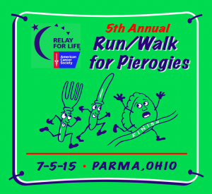 Join the Parma Animal Shelter at the Parma Run/Walk for Pieorogies.